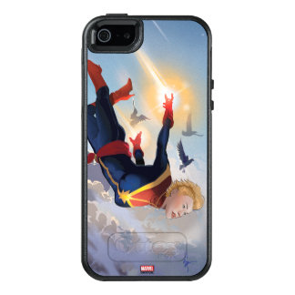 Captain Marvel Entering The Atmosphere OtterBox iPhone 5/5s/SE Case