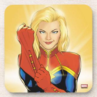 Captain Marvel Fitting Glove Coaster