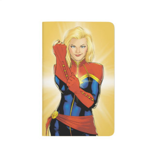 Captain Marvel Fitting Glove Journal