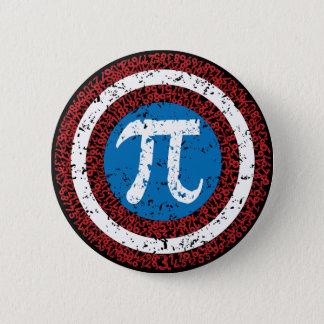 Captain Maths 6 Cm Round Badge