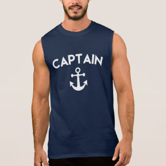 Captain Men's shirt with anchor