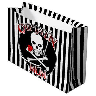 Captain Mum Large Gift Bag