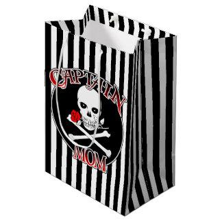 Captain Mum Medium Gift Bag