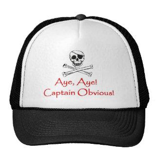 Captain Obvious Cap