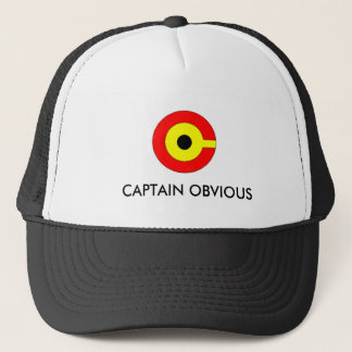 CAPTAIN OBVIOUS HAT