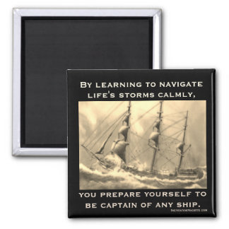 Captain of Any Ship Magnet