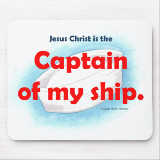 captain of my ship mouse pads