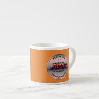 Captain Of Salvation Christian Espresso Mug