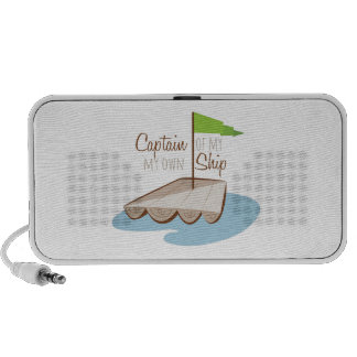 Captain Of Ship Portable Speakers