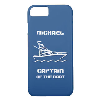 Captain of the Boat (customizable) iPhone 7 Case