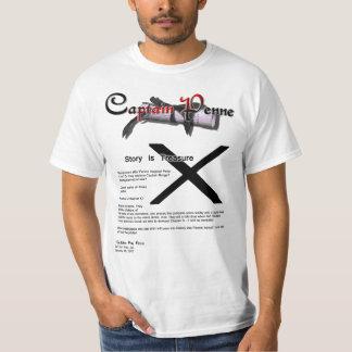 Captain Penne Tee Shirt Book chapter X