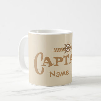 Captain personalized boat cup