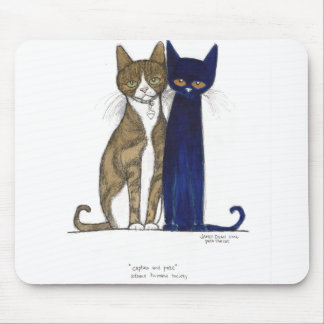 Captain & Pete Mousepad
