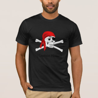 Captain Pirate American Apparel Poly-Cotton Blend T-Shirt