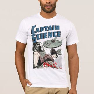 Captain Science #3 Artwork T-Shirt