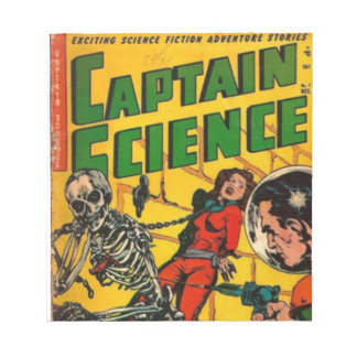 Captain Science Notepad