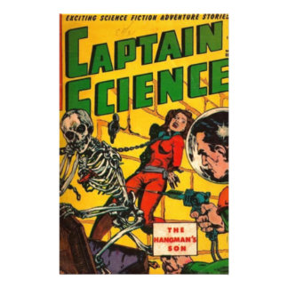 Captain Science Stationery