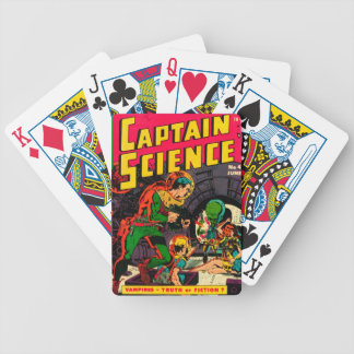 Captain Science -- Vampires: Truth or Fiction? Bicycle Playing Cards