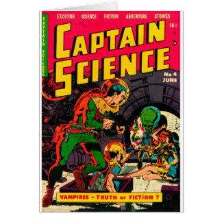 Captain Science -- Vampires: Truth or Fiction? Card