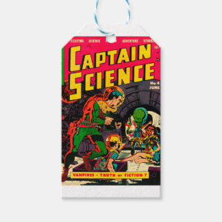 Captain Science -- Vampires: Truth or Fiction? Gift Tags