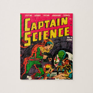 Captain Science -- Vampires: Truth or Fiction? Jigsaw Puzzle