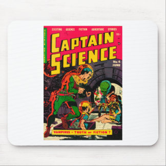 Captain Science -- Vampires: Truth or Fiction? Mouse Pad
