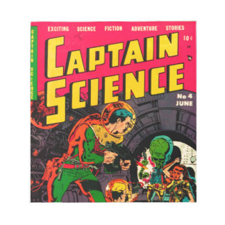 Captain Science -- Vampires: Truth or Fiction? Notepad