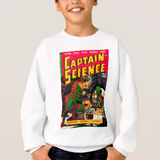 Captain Science -- Vampires: Truth or Fiction? Sweatshirt