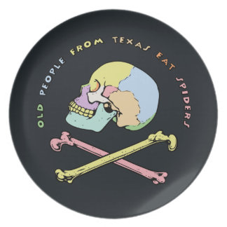 Captain Skull Mnemonic Plates