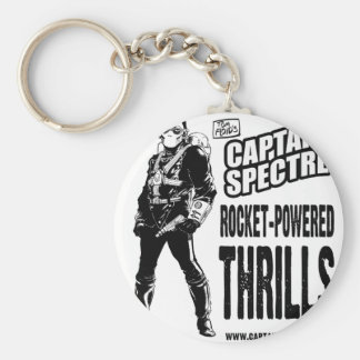 Captain Spectre and the Lightning Legion Key Ring