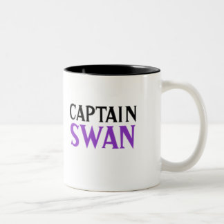 Captain Swan Two-Tone Coffee Mug