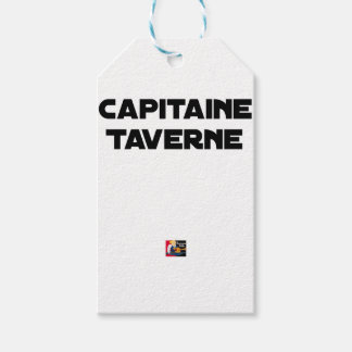 CAPTAIN TAVERN - Word games - François City Gift Tags
