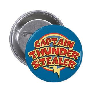 Captain Thunderstealer 6 Cm Round Badge