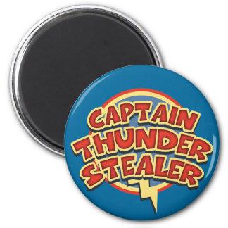 Captain Thunderstealer 6 Cm Round Magnet