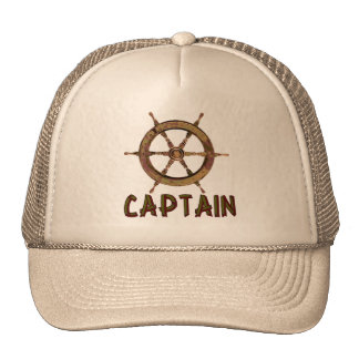 Captain Trucker Hats