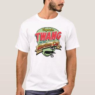 Captain Twang and his Rhythm Cat T-Shirt