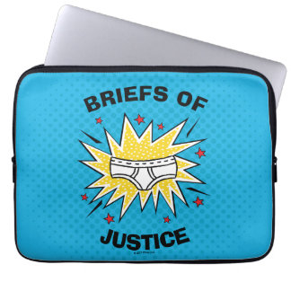 Captain Underpants | Briefs of Justice Laptop Sleeves