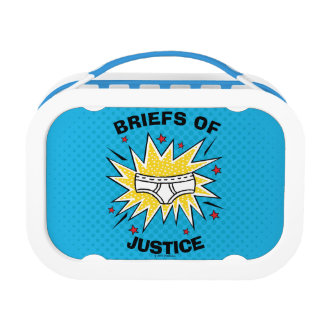 Captain Underpants | Briefs of Justice Lunch Box