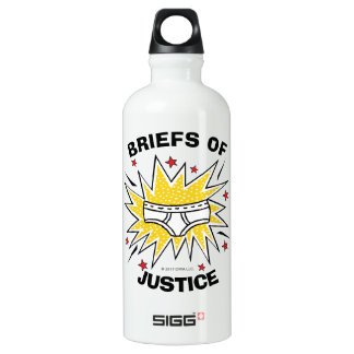Captain Underpants | Briefs of Justice Water Bottle