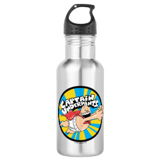 Captain Underpants | Flying Hero Badge 532 Ml Water Bottle
