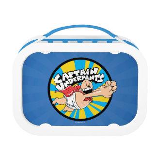 Captain Underpants | Flying Hero Badge Lunch Box