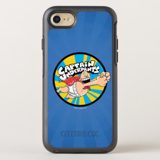Captain Underpants | Flying Hero Badge OtterBox Symmetry iPhone 8/7 Case