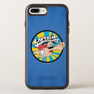 Captain Underpants | Flying Hero Badge OtterBox Symmetry iPhone 8 Plus/7 Plus Case