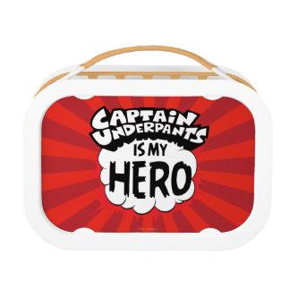 Captain Underpants | My Hero Lunch Box