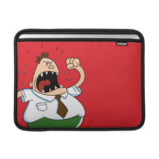 Captain Underpants | Principal Krupp Yelling MacBook Sleeve