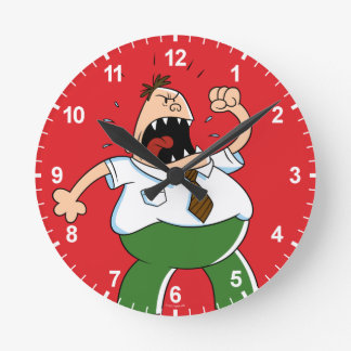 Captain Underpants   Principal Krupp Yelling Round Clock