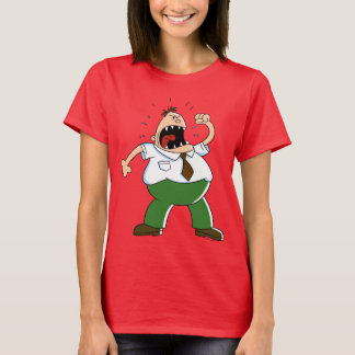 Captain Underpants | Principal Krupp Yelling T-Shirt