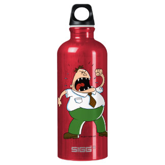 Captain Underpants | Principal Krupp Yelling Water Bottle