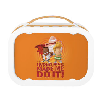 Captain Underpants | The Hypno Ring Made Me Do It Lunch Box