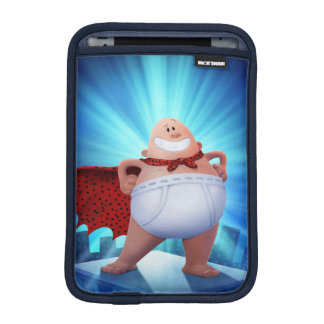 Captain Underpants | Waistband Warrior On Roof iPad Mini Sleeve